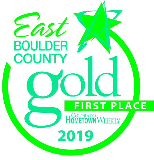 Scott's Roofing and Solar Receives Best in East Boulder County Award for the Second Year in a Row!