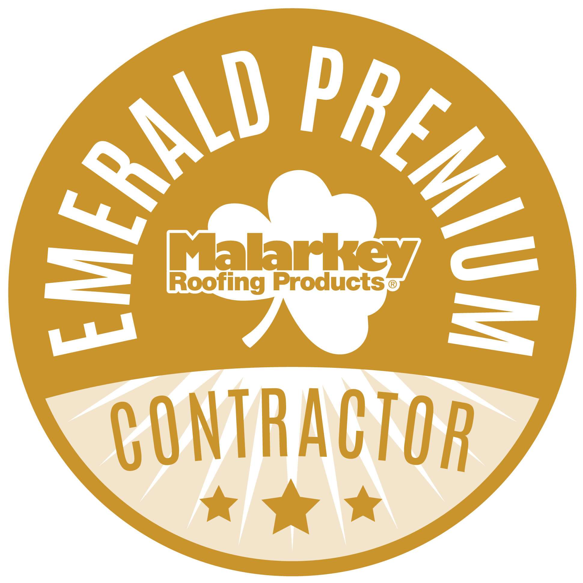 Emerald Premium Contractor Badge